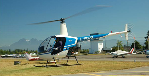 The R22 Beta Helicopter